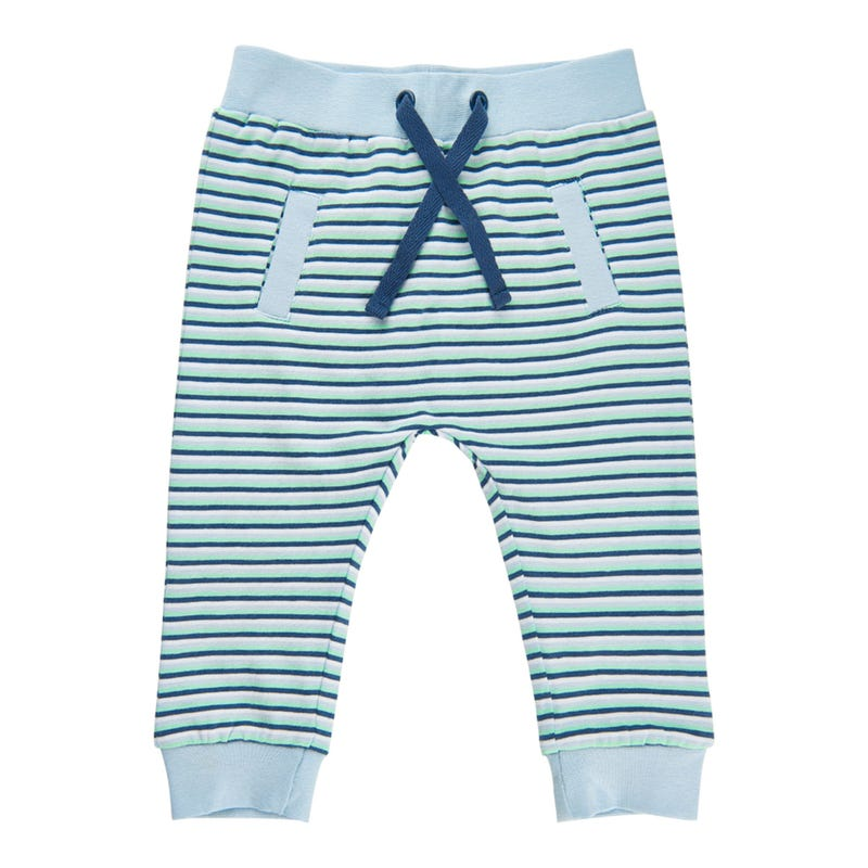 Tractor Striped Pants 0-12m
