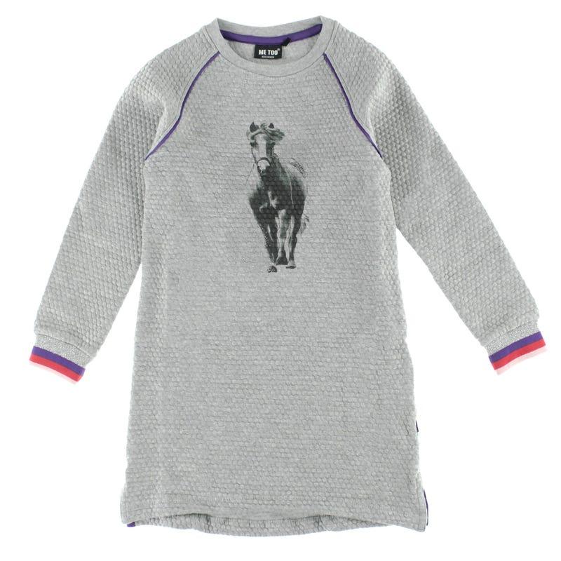 Rainbow Horse Dress 3-6