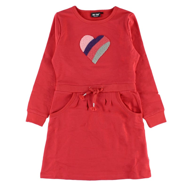 Rainbow Heart Dress 3-6