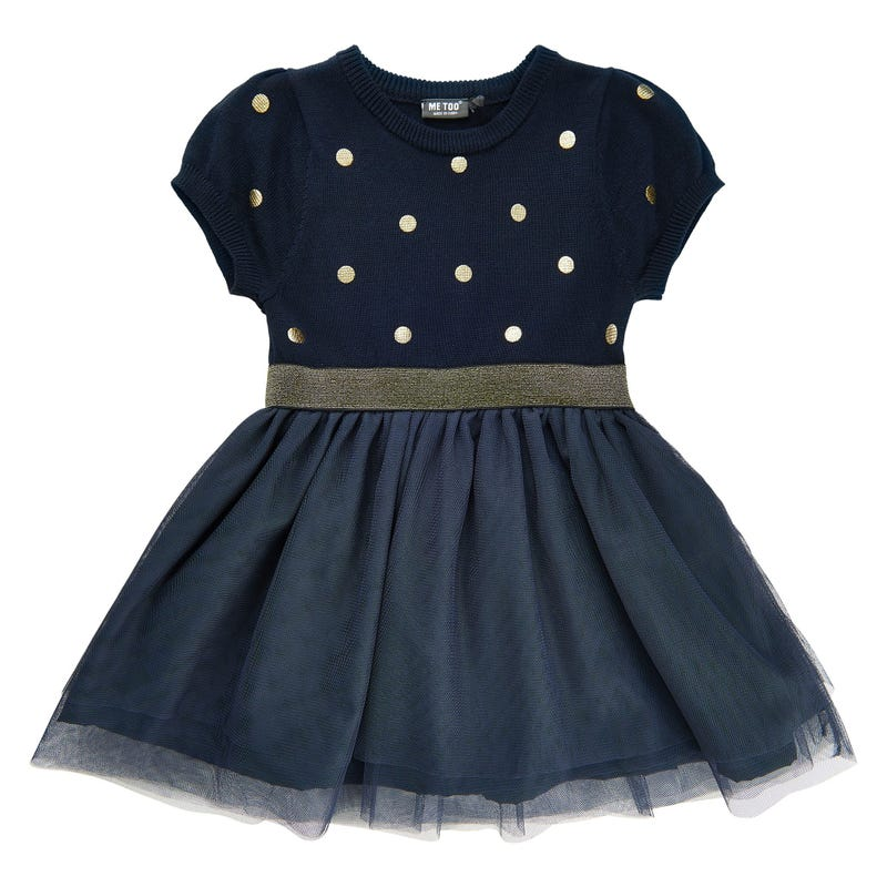 Magic dots tulle dress 3-6