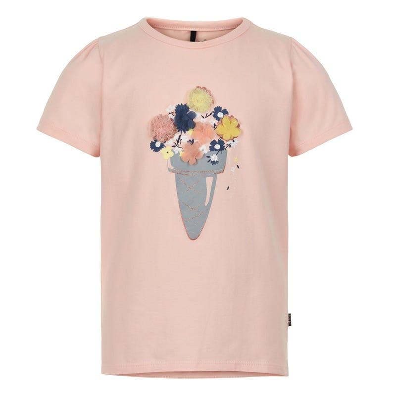 Flowers Cone T-shirt 3-6