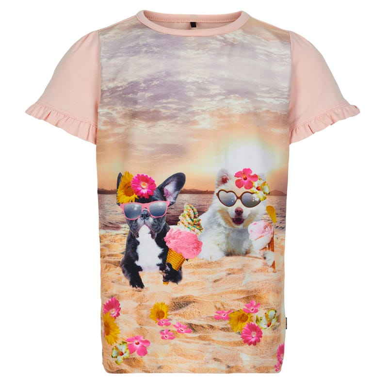 Flowers Dogs Tunic 3-6