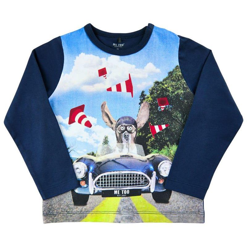 Race Dog L/S T-Shirt 3-6