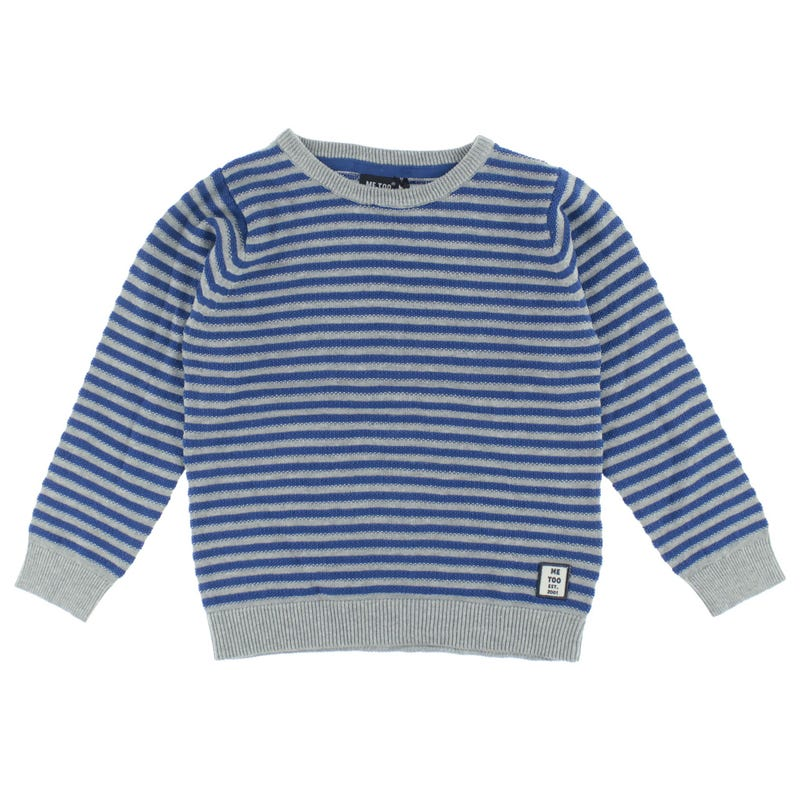 Race Stripes Sweater 3-6