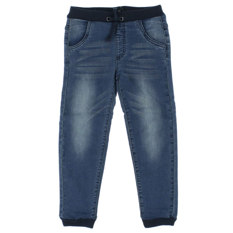 Pantalon Jogger Denim Course 3-6ans
