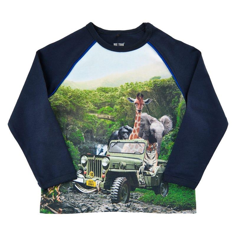 Spirit jeep l/s t-shirt 3-6