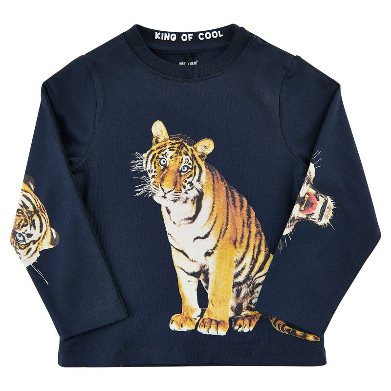 Spirit tiger l/s t-shirt 3-6