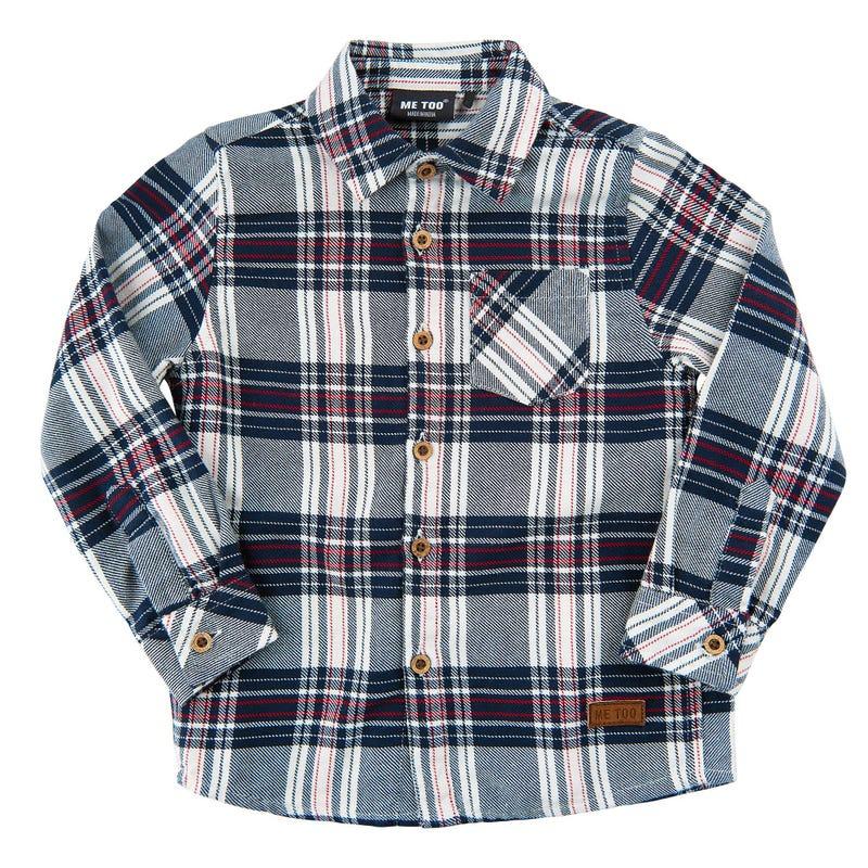 Spirit plaid shirt 3-6
