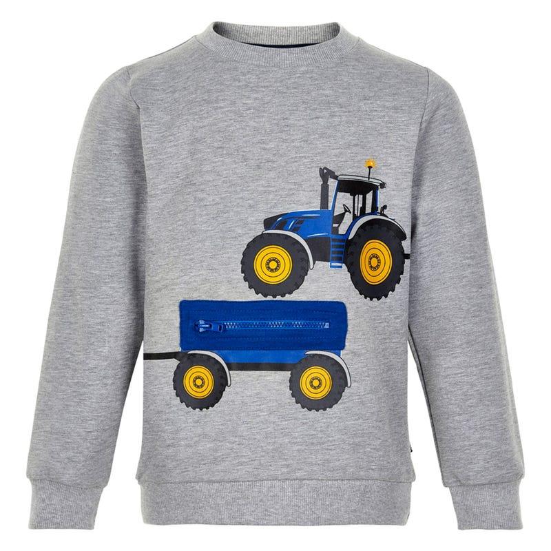Gilet Ouaté Zip Tracteur 4-7
