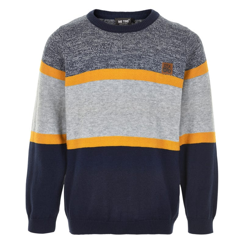 Pull Tricot Tracteur 4-7ans