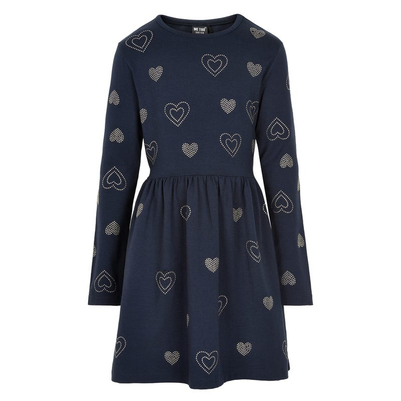 Fun heart dress 7-14
