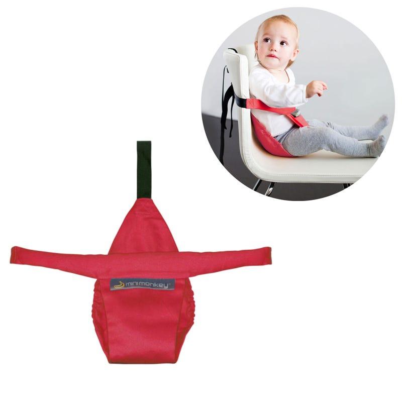 MiniMonkey Siège Portable Minichair - Rouge