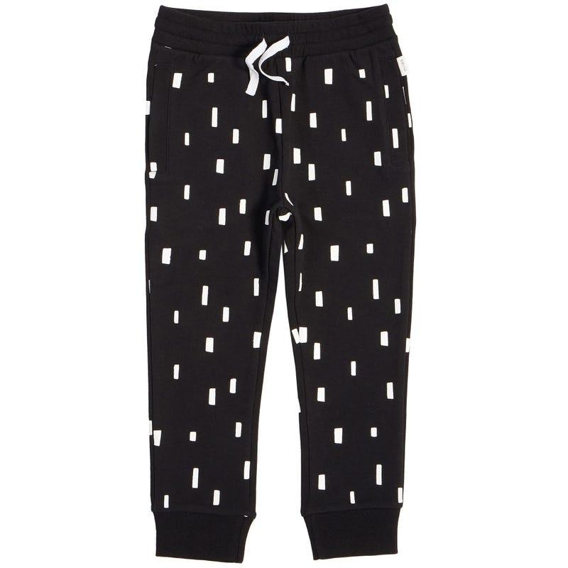 Pantalon Jogger Imprimé Basique 5-7ans