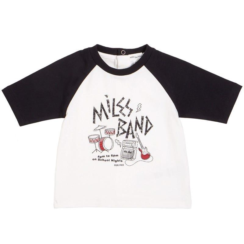 T-Shirt Raglan Musique 3-24mois