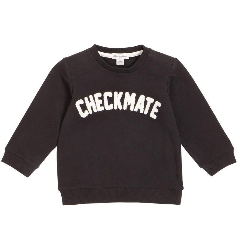Check Club Sweatshirt 3-24m