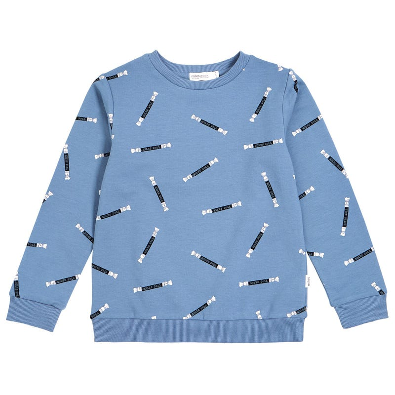 Candy Printed Sweatshirt 3-7y