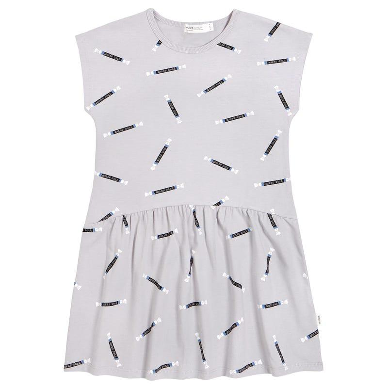 Candy Printed Dress 3-7y