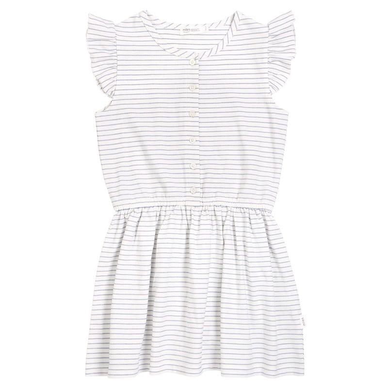 Candy Striped Dress 3-7y