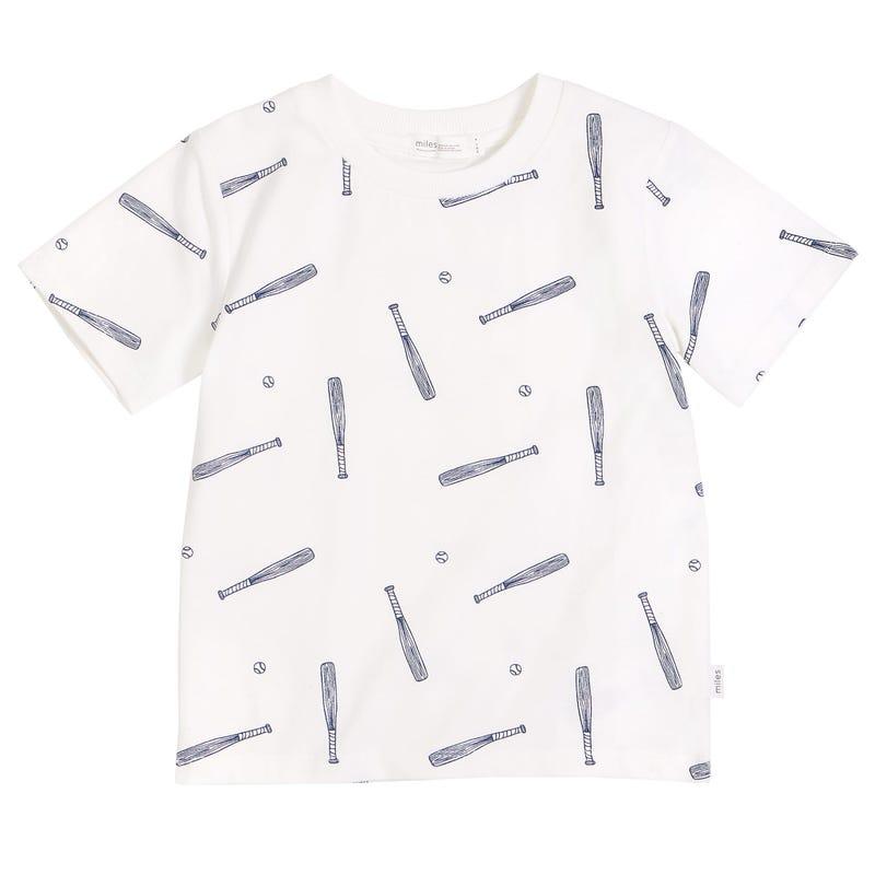 T-Shirt Imprimé Baseball 3-7ans