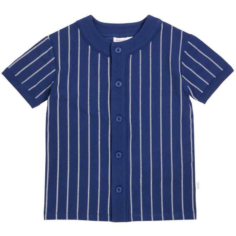 T-Shirt Rayé Baseball 3-7ans