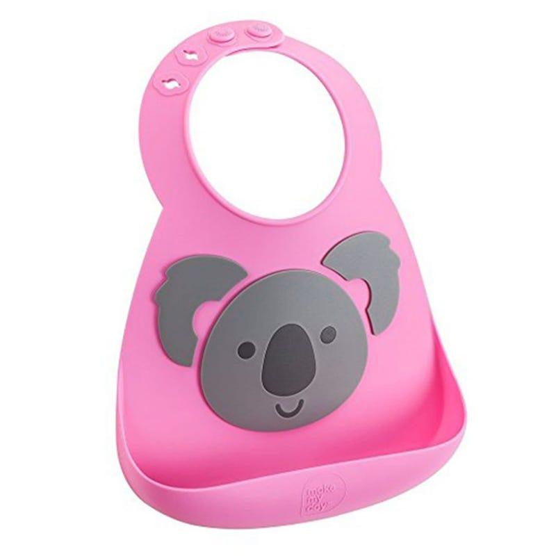 Bib Pink Koala