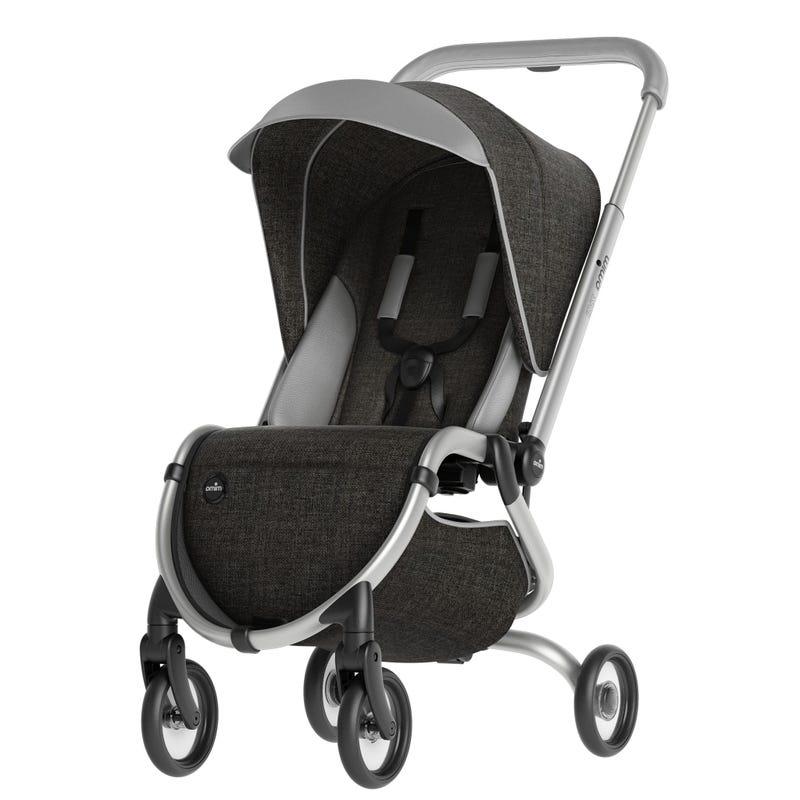 Zigi Travel Stroller - Charcoal