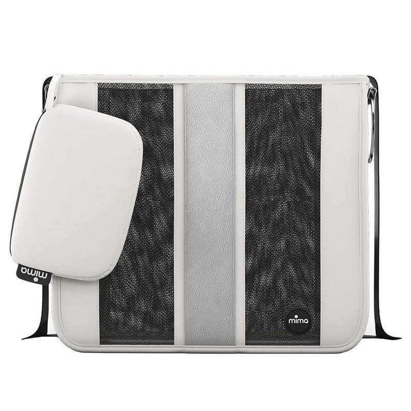 Diaper Bag Tote - White