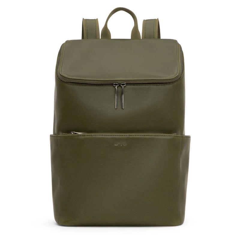 Backpack Dean - Olive/Silver