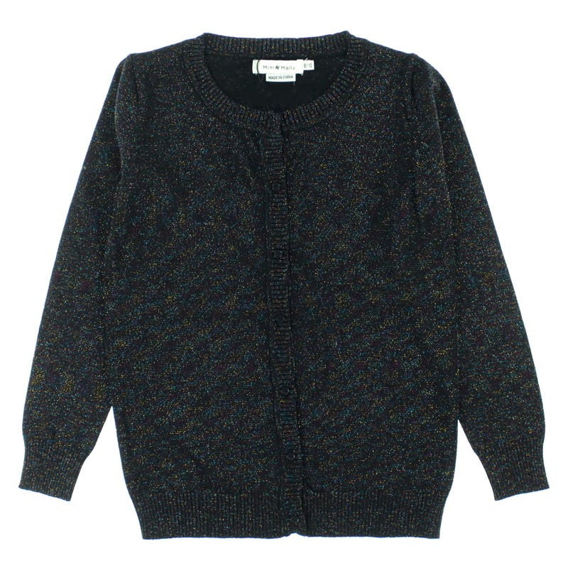 Shiny knitted cardigan 8-14