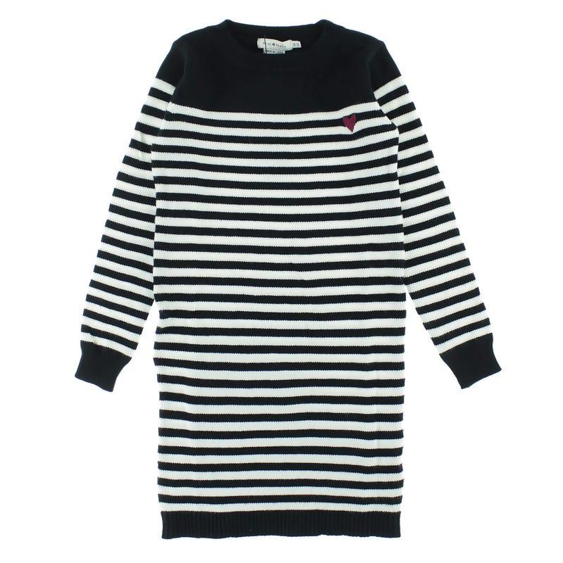 Striped Knit Dress 8-14