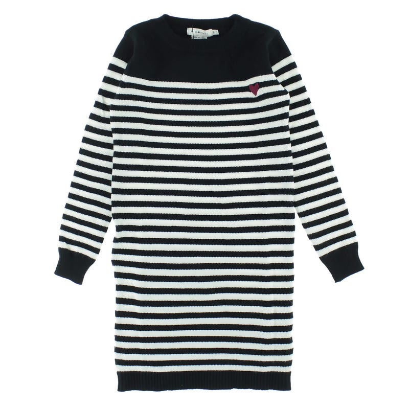 Striped Knit Dress 8-14