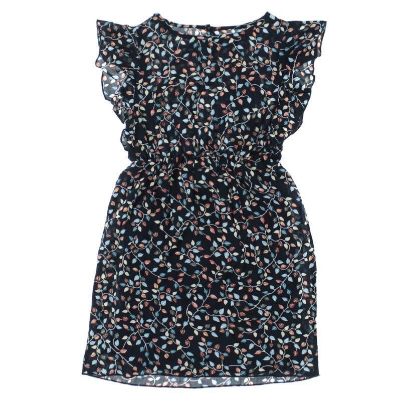 Dress 8-14y - Leaves Print
