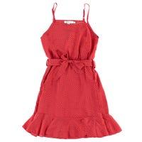 PolkaDot Sleeveless Dress 8-14y