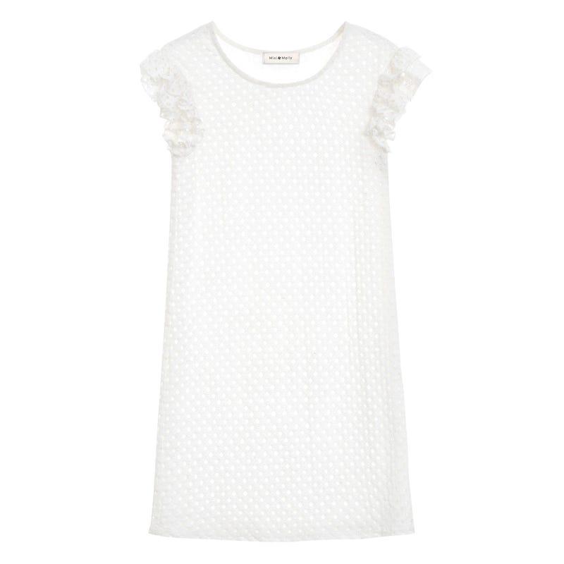 Lace Short Sleeve Dress 8-14y