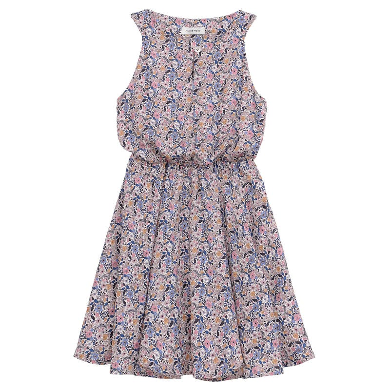 Robe Fleurs Sauvages 8-14ans