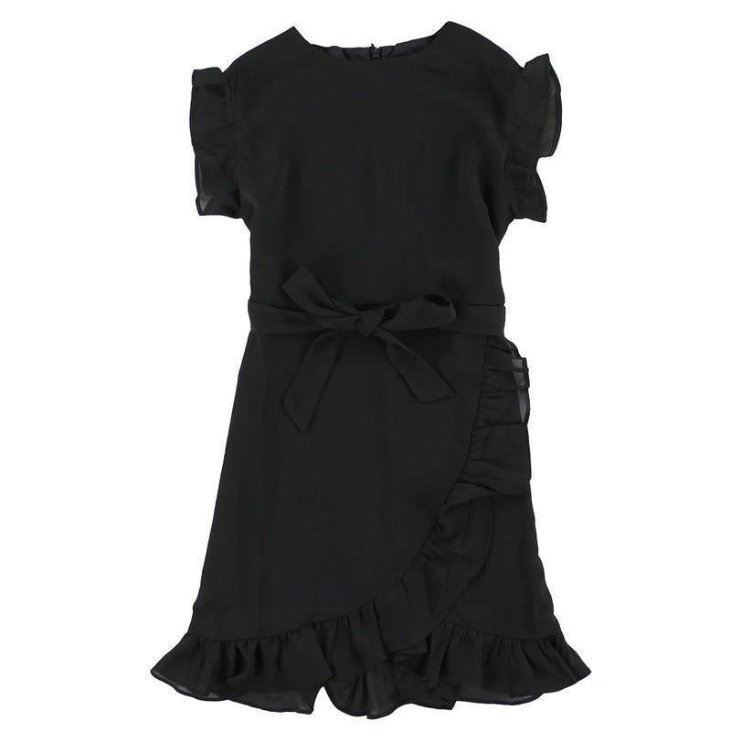 Robe Noire Chic 8-14ans
