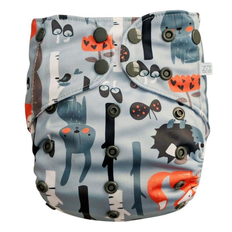 Pocket Diaper 8-38 lbs - Wood