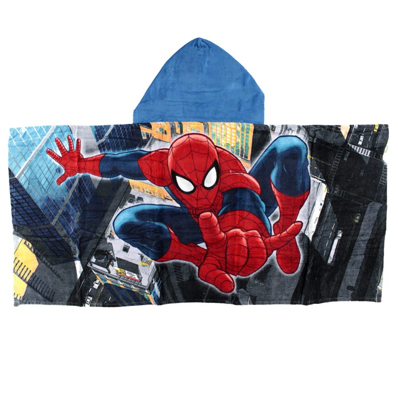 Serviette Capuchon Spiderman