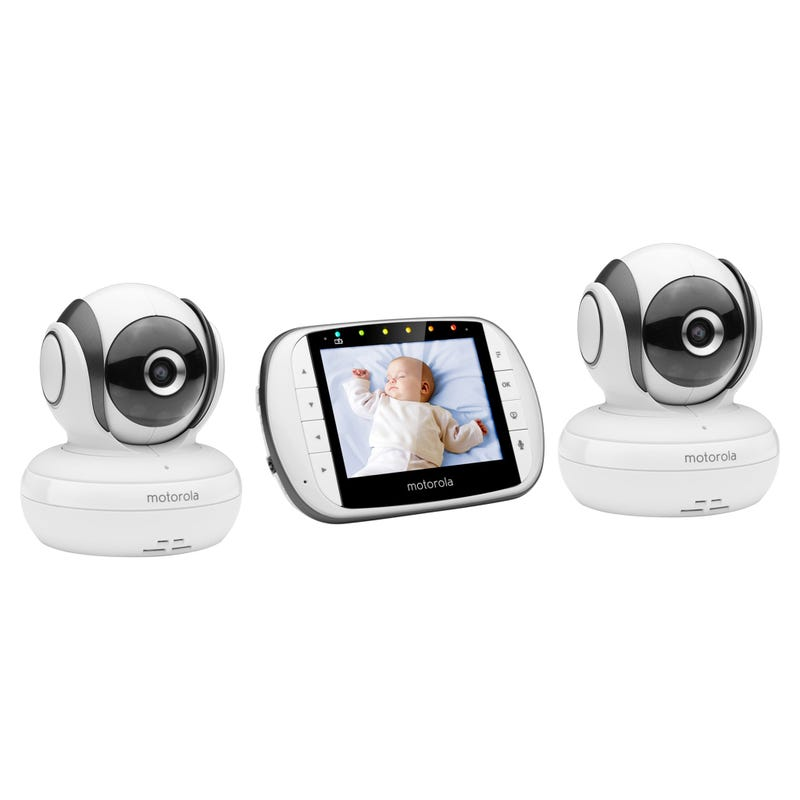 2 Camera Video baby Monitor