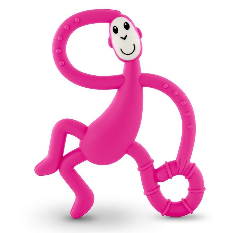 Dancing Monkey Teether - Pink