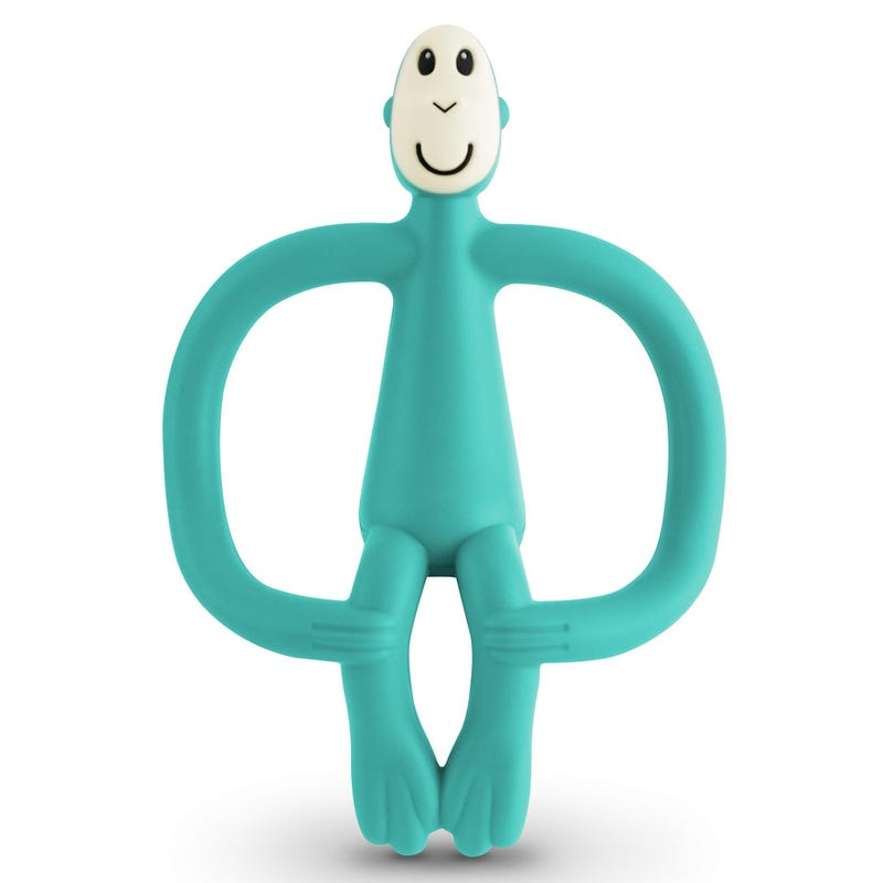 Monkey Teething Toy - Green