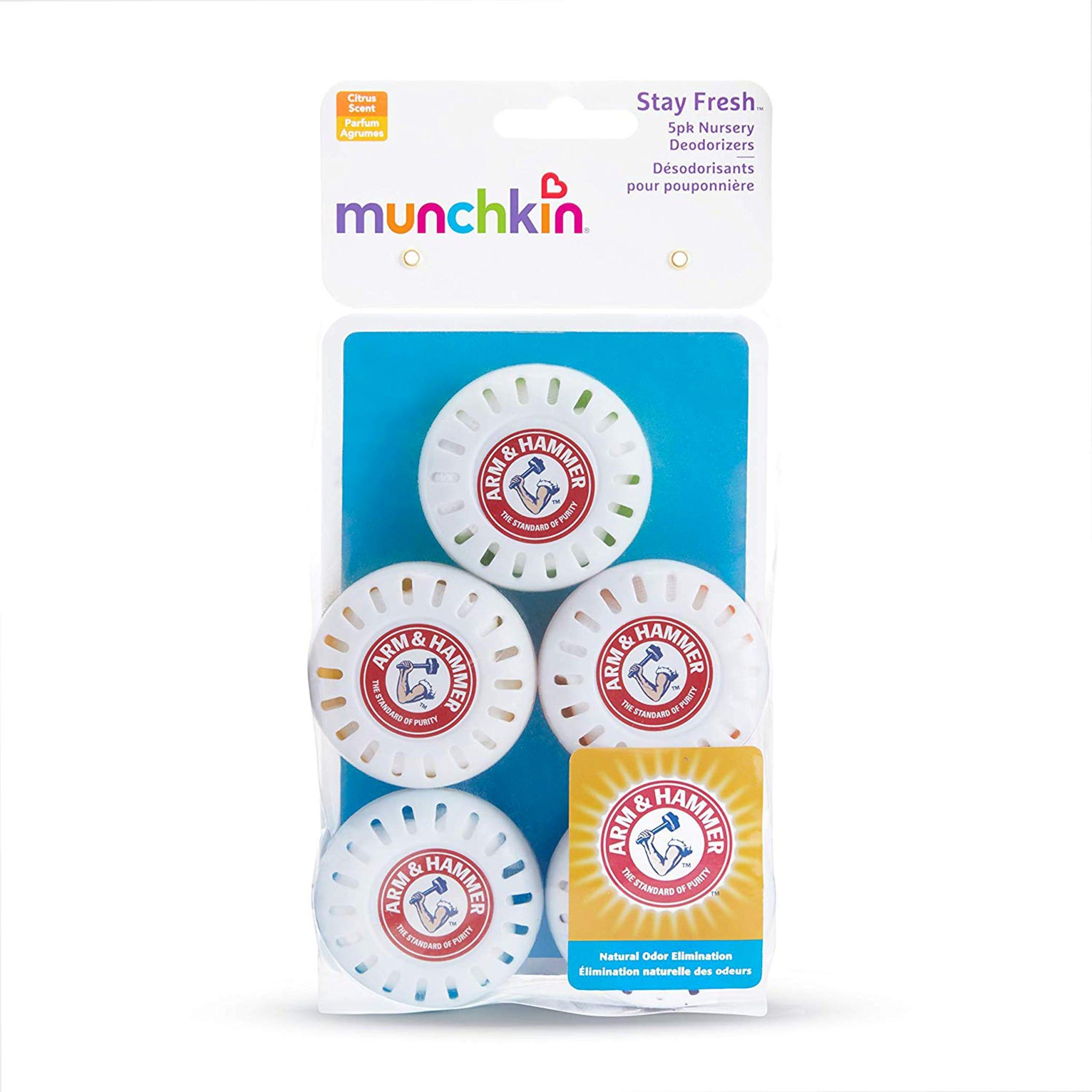 2 Pack Munchkin Arm /& Hammer Deodorizer Fresheners Lavender or Citrus 5 Ct Each