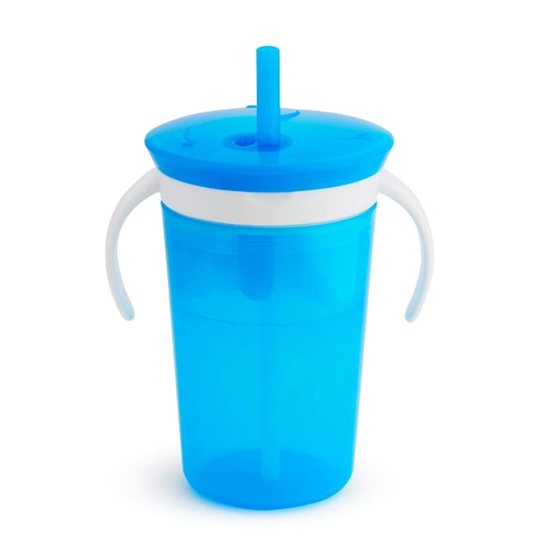 SnackCatch and Sip 2-in-1 Snack Catcher and Spill Proof Cup - Blue