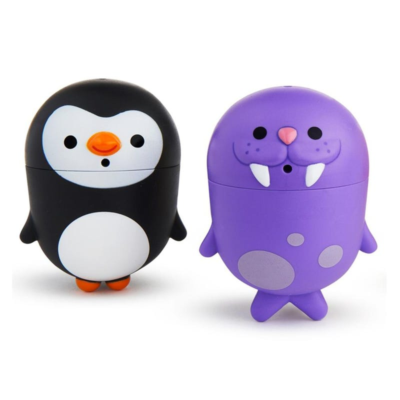 CleenSqueeze Mold-Free Bath Squirts Penguin and Walrus