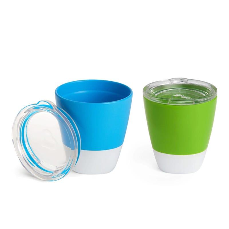 Tasses d'Entrainement Paquet de 2 - Bleu Vert