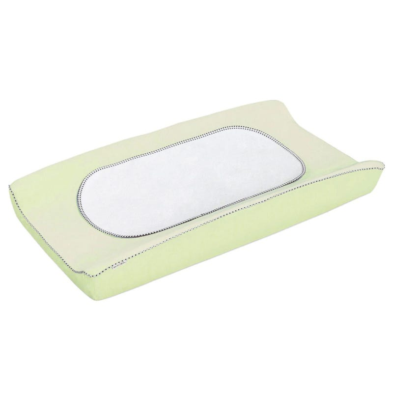 Changing Pad Cover with Waterproof Liner - Green