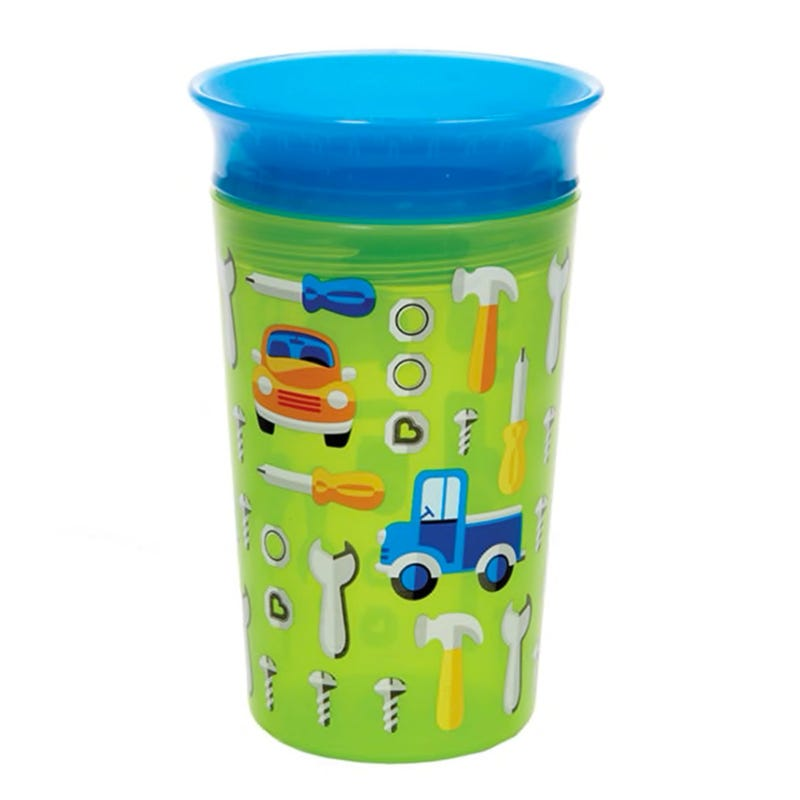 Miracle 360 Deco Sippy Cup 9oz - Green Car