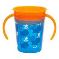 Miracle 360 Deco Trainer Cup 6oz - Blue Whale
