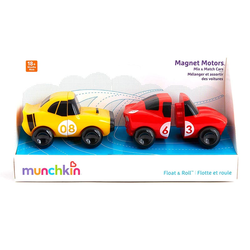Magnet Motors Mix and Match Cars - Red