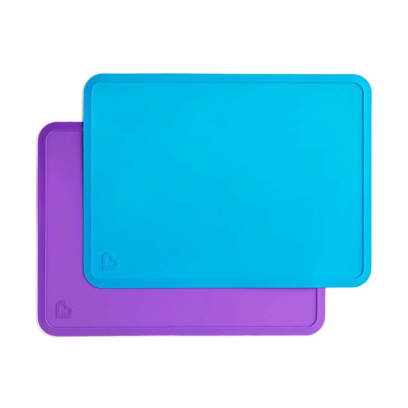 Spotless Silicone Placemats - Blue/Purple